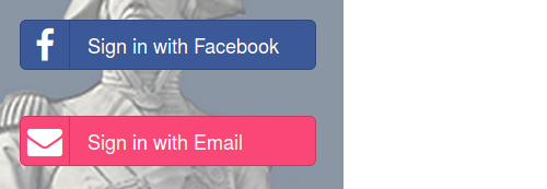 picture of login buttons